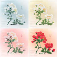 10 Pcs Flowers Embroidered Patch for Clothing Sew on Sew Applique Patch Jeans Clothes Sticker Badge Iron on Floral