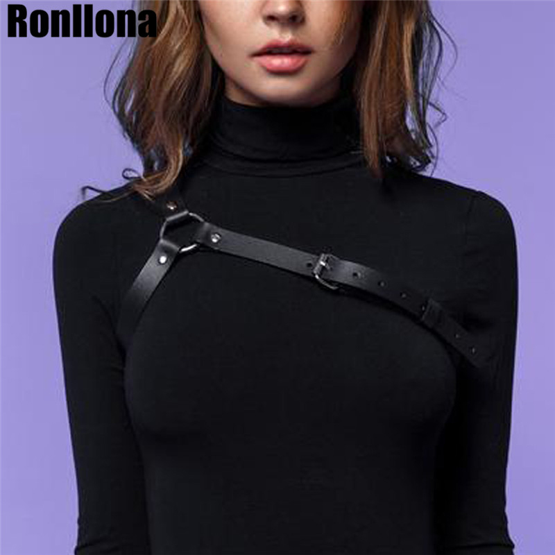 Leather Harness Body Harness Underwear Leather Belt For Women Body Strap Bra Cage Harajuku Bondage Sexy Suit Harness Lingerie