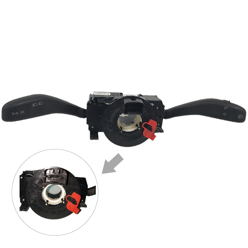 BTAP New Multi-function Steering Wheel Control Unit For VW Polo 2011 Skoda Fabia 6RD953503 6R0 953 503 6R0953503 6R0 953 503 cruise control switch system ccs stalk harness fit for 2011 2013 new polo fabia 6rd 953 503 j