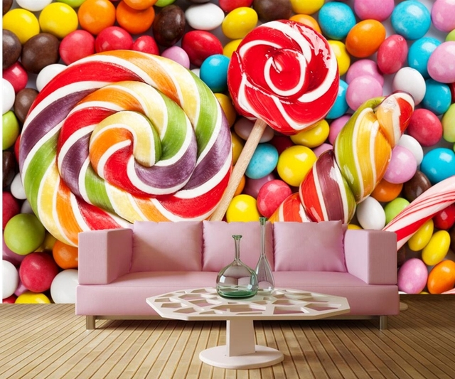 Papel De Parede Sweets Candy Food Wallpaperscoffee Shop Dining
