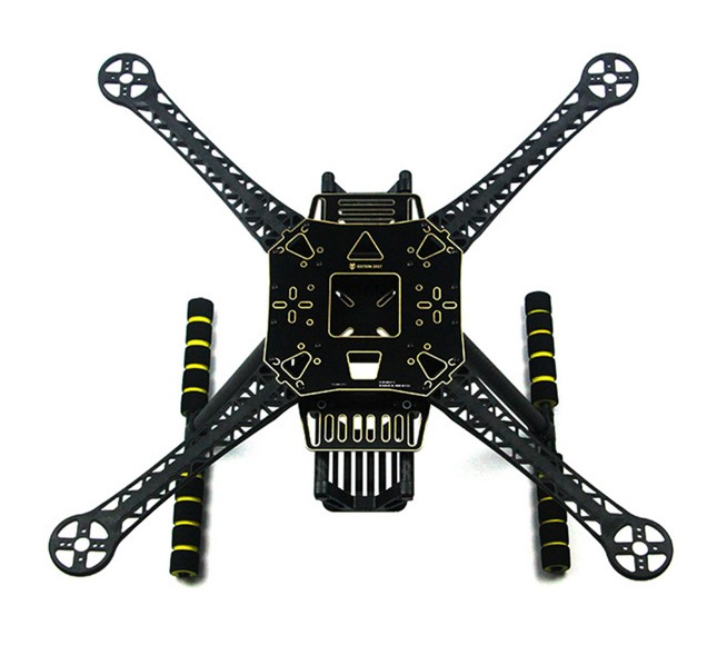 S520 S600 Super Hard Arm 4 Axis Rack Quadcopter Frame Kit with Landing Gear Skid F450