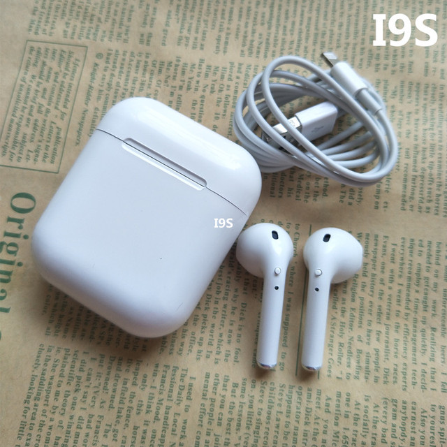 headphones air wireless pods earphone for Andorid apple Iphone New A8s/A9s Bluetooth Earbuds double ear Wireless Headsets