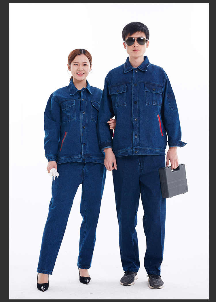 2b716a2c303a Detail Feedback Questions about Men Women Work Clothing Sets Long Sleeve  Jackets and Pants Workwear Suits Factory Workers Car Repair Overalls Welding  ...