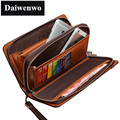 M03 Brand Handbag PU Leather Purse Men the Fashion Clutch Men's Wallets Black Coffee Colour Carteira Long Wallet Male Handbag