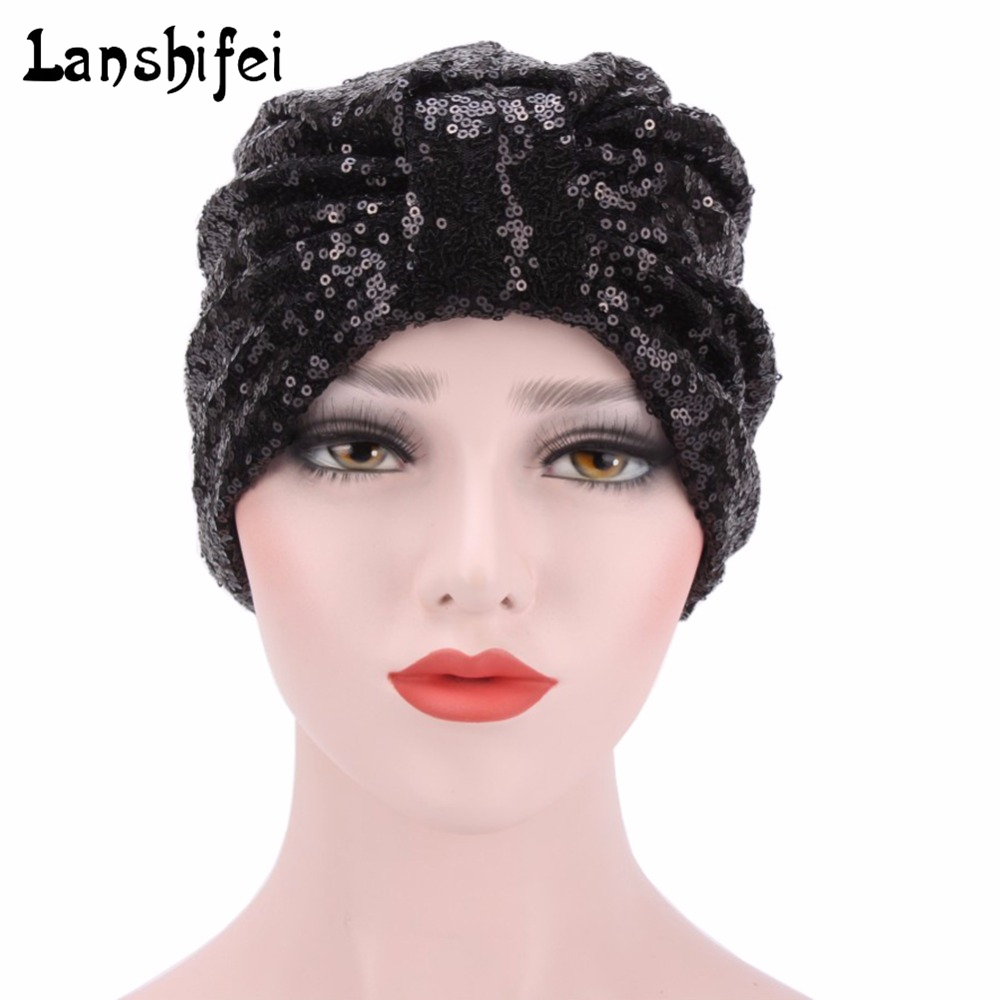 2017 New Women Cap Muslim Retro Turban Hat Cotton Chemo Cap Hair Loss Head Scarf Wrap Confinement Cap Hijib Cap Bonnet Beanie