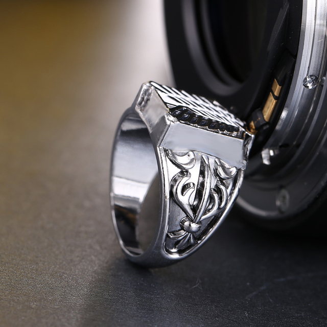 Anime Attack On Titan Jewelry Ring