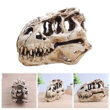 Динозавр тираннозавр череп T-Rex подарки с черепами реалистичные изделия из смолы череп динозавра Fossil обучение скелет модель домашний декор