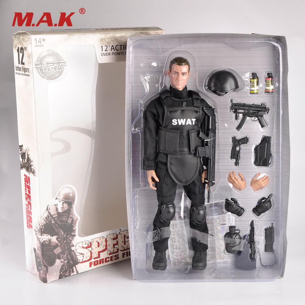 12 Inches Swat SDU Seals Action Figures with Military Uniforms Full Set Soldier Figures Army Combat Games Toys Models Gifts lps pet shop toys rare black little cat blue eyes animal models patrulla canina action figures kids toys gift cat free shipping