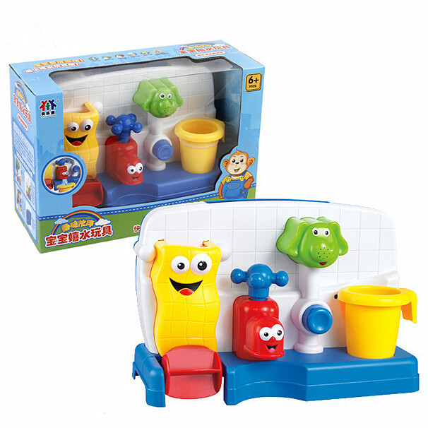 Faucet Bath Toy Toys for Children Baby Bath Toys in the Bathroom ...