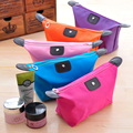 New Casual zipper cosmetic case make up box  suitcase for cosmetics wash toilet bag holder organizer Toothbrush Pouch women girl