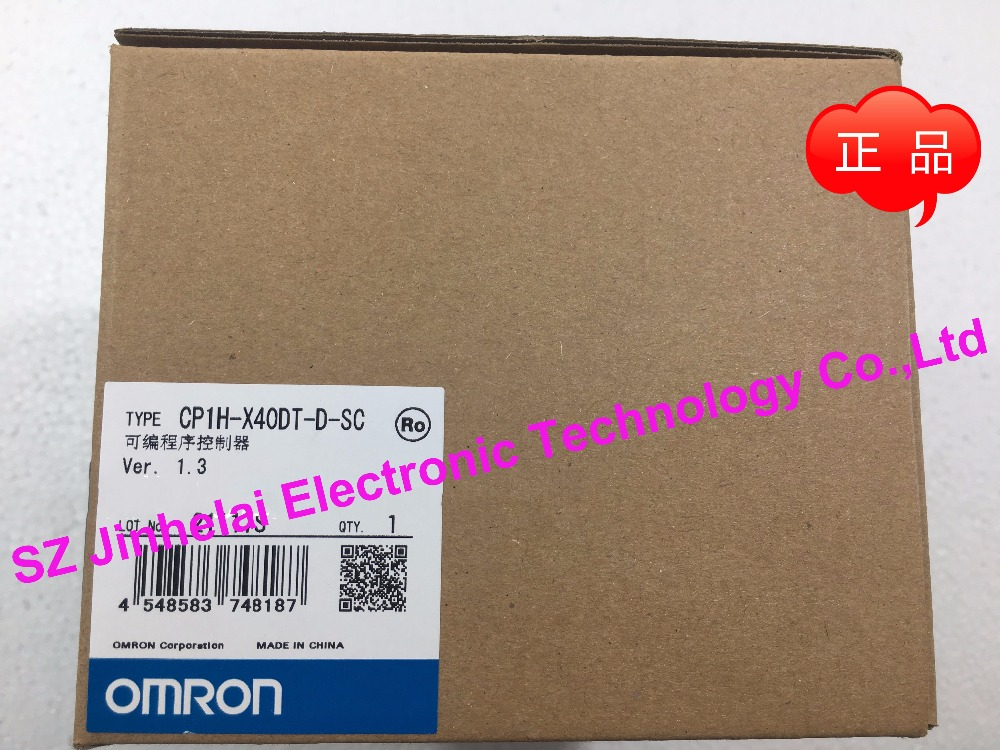 100% New and original CP1H-X40DT-D-SC OMRON PLC controller new and original cp1h xa40 dr a omron plc controller module