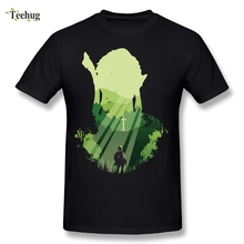 The Legend Of Zelda Link T-shirt Men Prelude of Light Graphic Cotton Print T Shirts