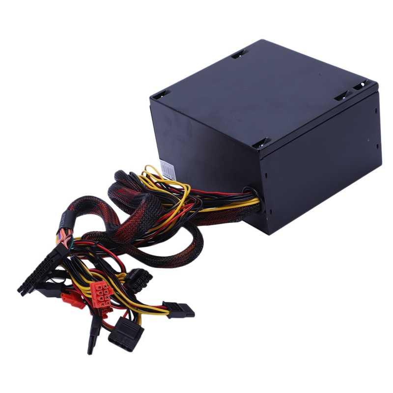 170-260 V Max 600 W блок питания ПЗУ Pfc бесшумный вентилятор 24Pin 12 V Pc компьютер Sata игровой ПК блок питания подходит для Intel, подходит для AMD компьютера