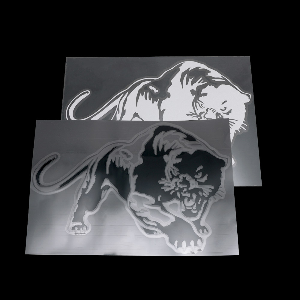 Fiery Wild Panther Hunting Car Body Decal Car Stickers Motorcycle Decorations Car Exterior Accessories