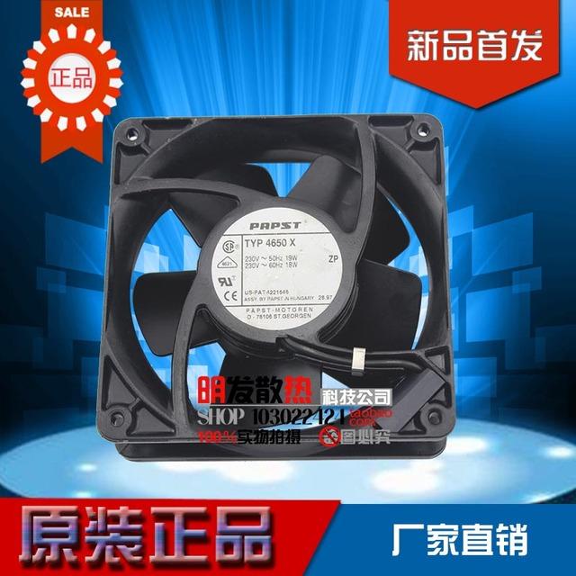 12038 12 CM de metal de alta temperatura 220 V AC ventilador de refrigeración 4650N