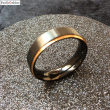 pacificgoddes Male Wedding Band Tungsten Carbide Ring 6mm Man ring men Women Anniversary Jewelry Size 5 6 7 8 9 10 11 12 13