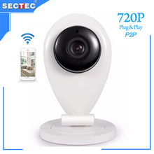 SECTEC 2016 720P Mini WIFI Camera Free Yoosee mobile APP Motion Detection Cloud P2P Wireless IP Security Camera for Home Safety