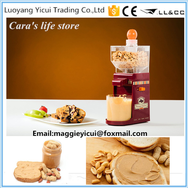 ФОТО Top Quality Electric Peanut Butter Making Machine Home Butter Maker