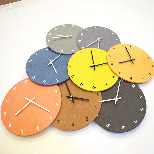 New Fashion Wooden Wall Clock Modern Design Oversized Large ...