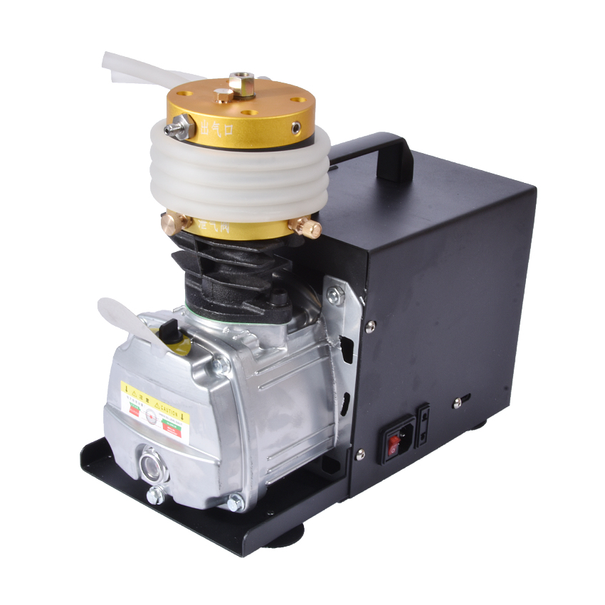 1 pcs / lot 30MPa air compressor 220 V 50Hz high-pressure air pump Electric cylinder 2800R/min High pressure air pump