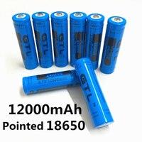 100% Новый оригинальный NCR18650B 3,7 V12000 mah 18650 литий-Перезаряжаемые аккумулятор большой емкости GTL EvreFire