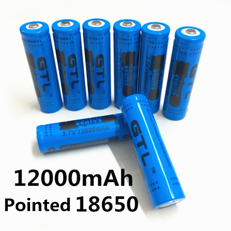 100% New Original NCR18650B 3.7 V12000 mah 18650 Lithium Rechargeable Battery Large Capacity GTL EvreFire100% New Original NCR18650B 3.7 V12000 mah 18650 Lithium Rechargeable Battery Large Capacity GTL EvreFire