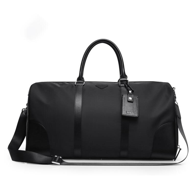 Mens Golf Clothes Bag Nylon Bag PU Shoes Travel Clothes Bag Good Quality