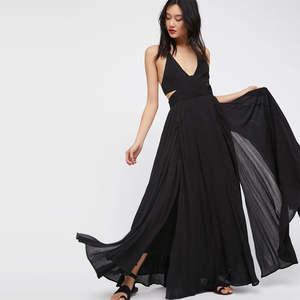 f3418600bd BOHOFREE Maxi Dress V Neck Vestidos Long Summer Beach Boho