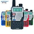 Walkie talkie baofeng uv-5re dual band cb rádio baofeng uv5r versão atualizada 5 w 128ch uhf & vhf rádio portátil