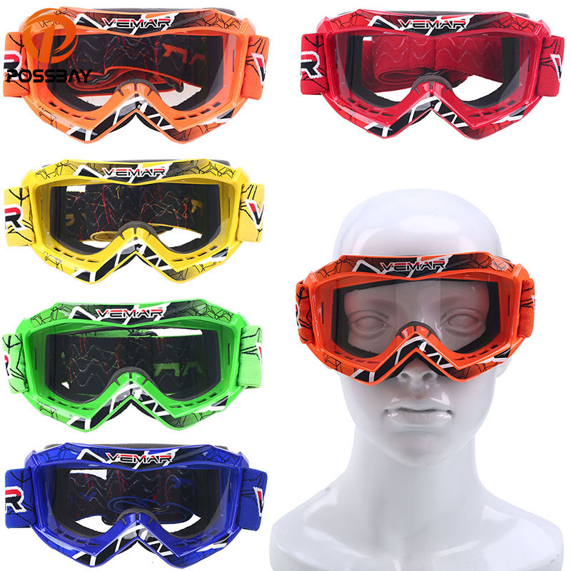 Racing Riding Outdoor Sport Goggles Eyewear Glasses MTB ATV Scooter Youth New