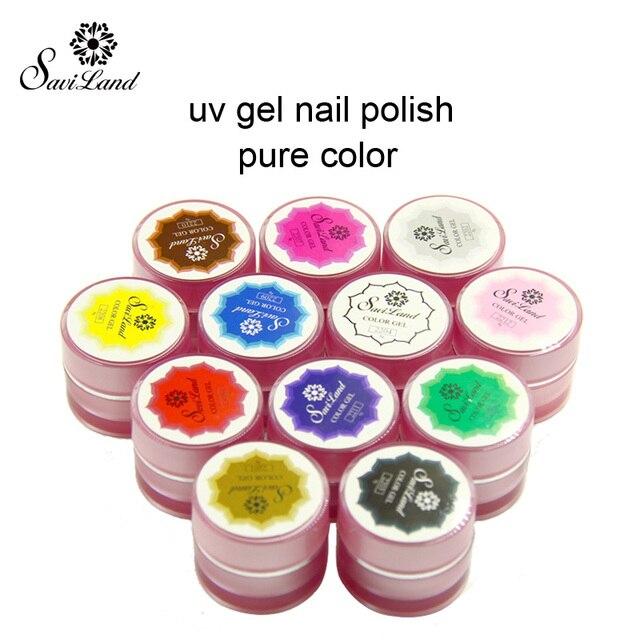 Saviland 1pcs UV Gel 3D Painting paint polish Nail Art Paint Drawn ...