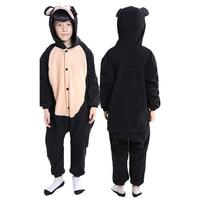 Ensnovo Children Animal Onesies Monkey Pajamas Kids Halloween Costume For Girls Boys Cute Anime Cartoon Pajamas