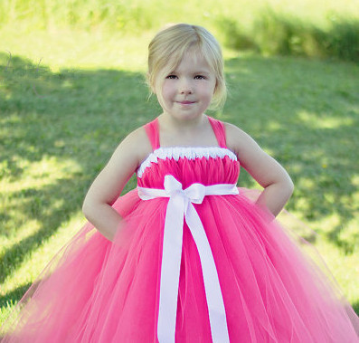 Ls 1 Baby Clothes Handmade Pink Red White Any Color Tutu