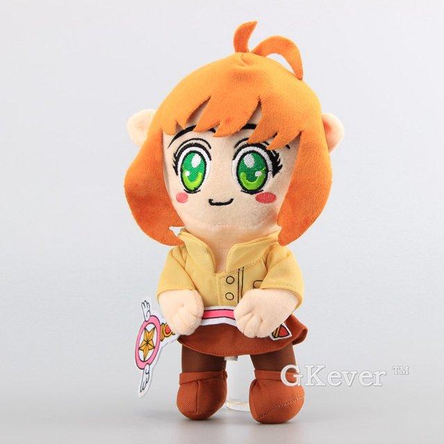 Anime Cardcaptor Sakura Kinomoto Sakura Toy Plush Bonito Stuffed Dolls 26 CM Crianças Presentes