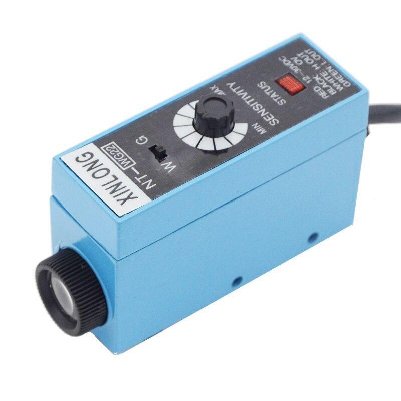 NT-RG22 NT-WG22 NT-BG22 Suivi d'oeil photoélectrique capteur de marque de couleur Corriger positionnement Haute sensibilité commutateur optoélectronique