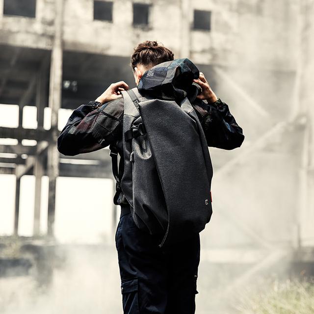 Men's Travel Backpack 17.3″ USB Port Waterproof Large Capacity