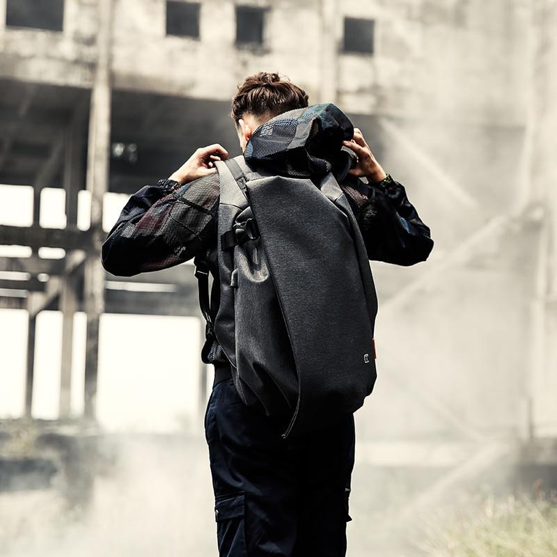 Tangcool Mode Hommes sac à dos pour ordinateur portable 17.3