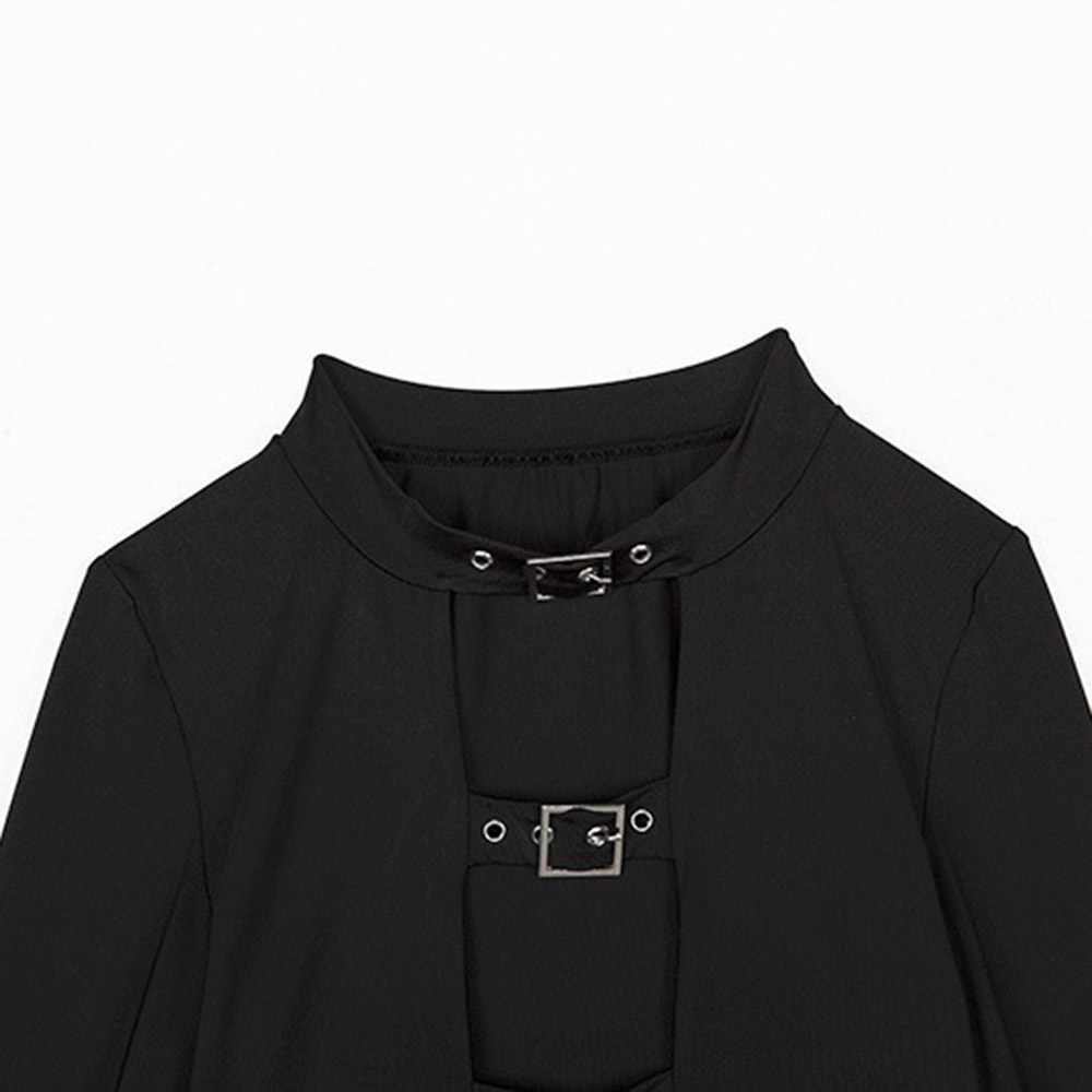 عارضة الهيب هوب أزياء النساء الناشطات قصيرة قمم غمد الأسود الصيف عالية الشارع الأبيض StripeFemale تي شيرت