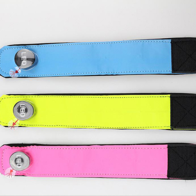 LED 32 CM Colorful Lighting Leg Straps For Outdoor Equestrian Sports 2
