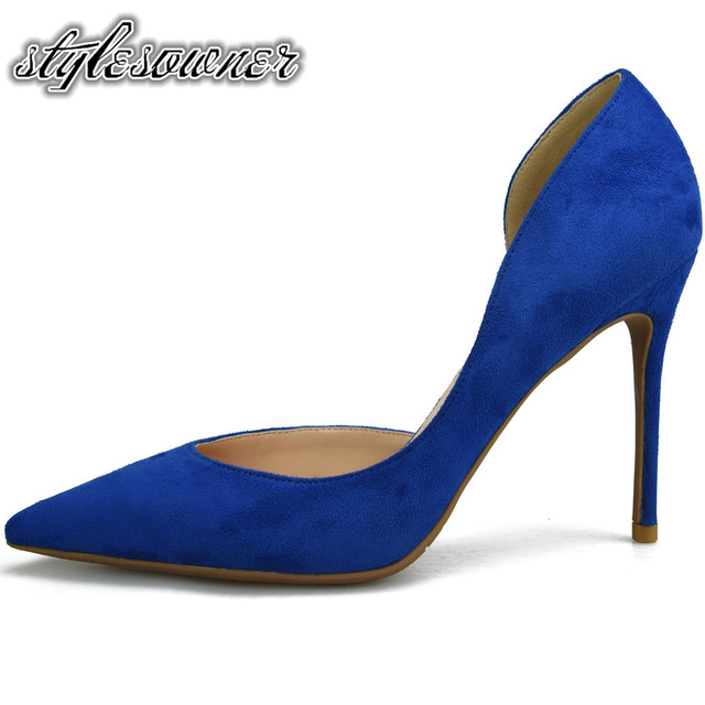 Stylesowner Hot Sale Mature Sweet High Heels Woman Shoes Thin Heels Fashion  Pumps Party Shoes For Woman High Heels Stiletto b8b23632da6a