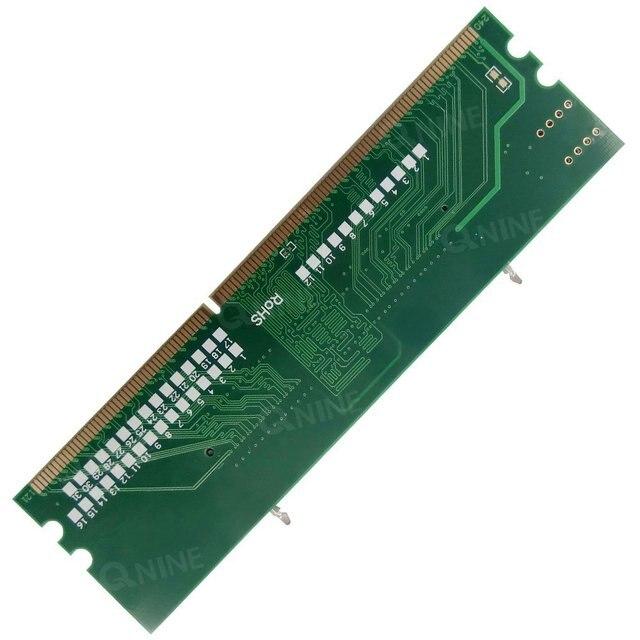QNINE Внутренняя Память RAM DDR3 204Pin Ноутбука SO-DIMM для Настольных DIMM Разъем Адаптера Конвертера