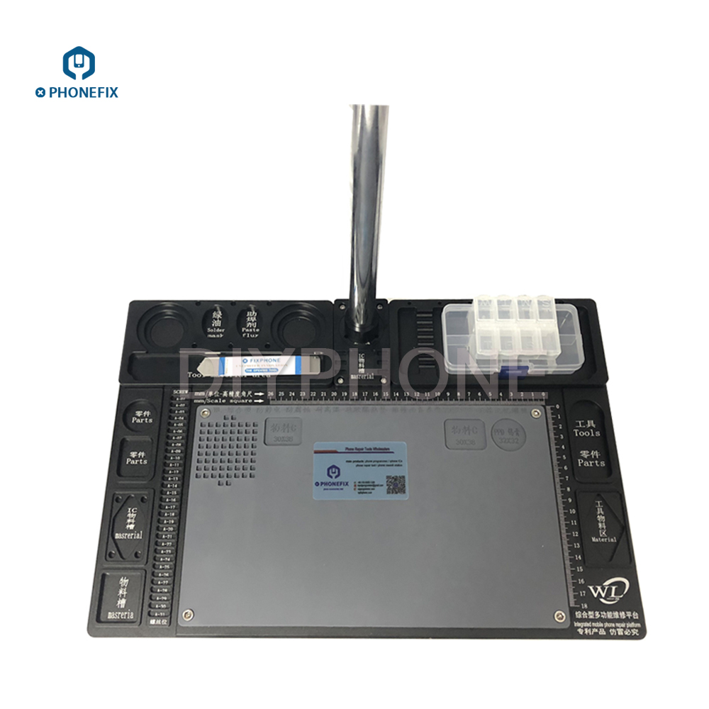 14MP 16MP 20MP HDMI Digital Camera 3.5-90X Trinocular Stereo Microscope with high temperature Aluminum Pad for Phone PCB Repair