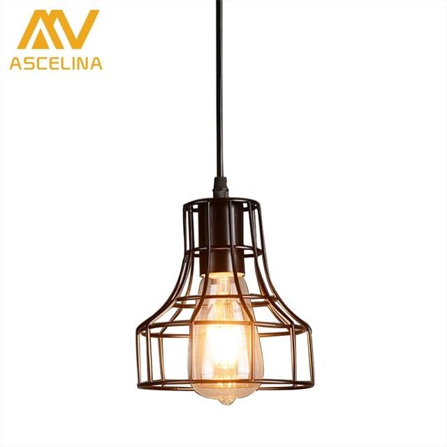 industrial style pendant lighting. ASCELINA American Loft Industrial Style Pendant Light Retro Creative Luminaire Led Lamps Restaurant/Bar/ Lighting O