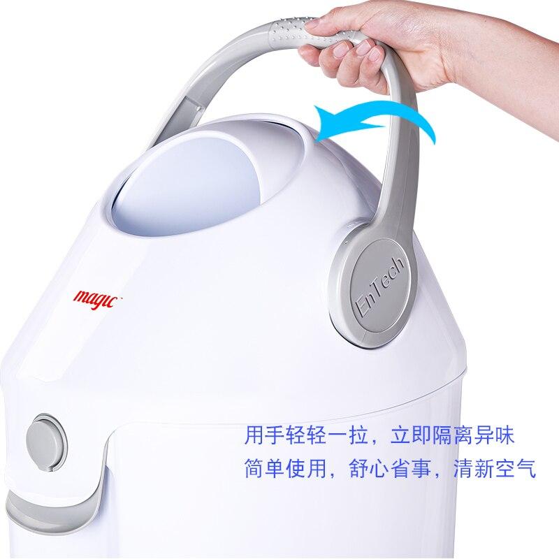 Creative ménage salle de bains avec couvercle scellé déodorant couches pour bébé baril anti-pet trash