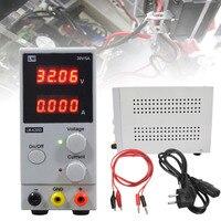 Mini 30V DC Power Supply Regulamentado Comutação Ajustável LCD Dual Display Digital para Uso Geral ou Laboratório 70*160*215 milímetros