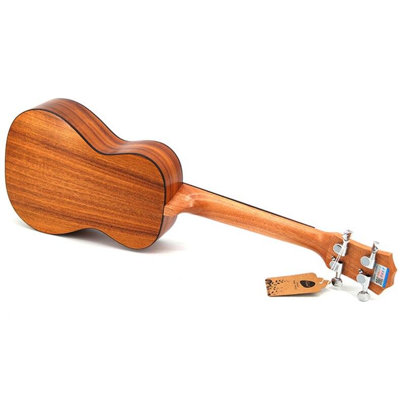 Concert ukulélé 23 acoustique petite guitare 4 cordes KOA doux Acacia Uke palissandre Fretboard électrique Ukelele avec ramassage EQ - 3