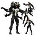 Marvel Select Vilão Venom Action Figure 7 Polegada 18 cm com cabeça e Mão pode Substituído Modelos Figura de Ação Brinquedos para presente