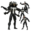 Marvel Select Villain Venom Action Figure 7 Inch 18cm with Head and Hand can Replaced Action  Figure Models Toys for Gift