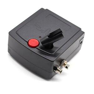Image 4 - Mini Air Brush Airbrush Kompressor Dual Action Spray Gun Pen Set Mit Kompressor Für Kuchen Tattoos Nagel Malen Kunst Make Up werkzeuge