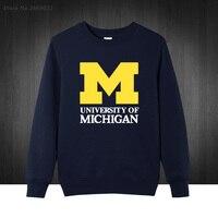 2017 New Michigan University American College Baseball S Jersey Clothing Men S Sweatshirts Printed Men Hoodies